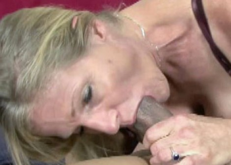 Mature blonde Violet getting fucked